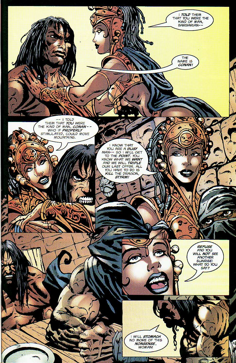 Read online Conan: Return of Styrm comic -  Issue #1 - 16
