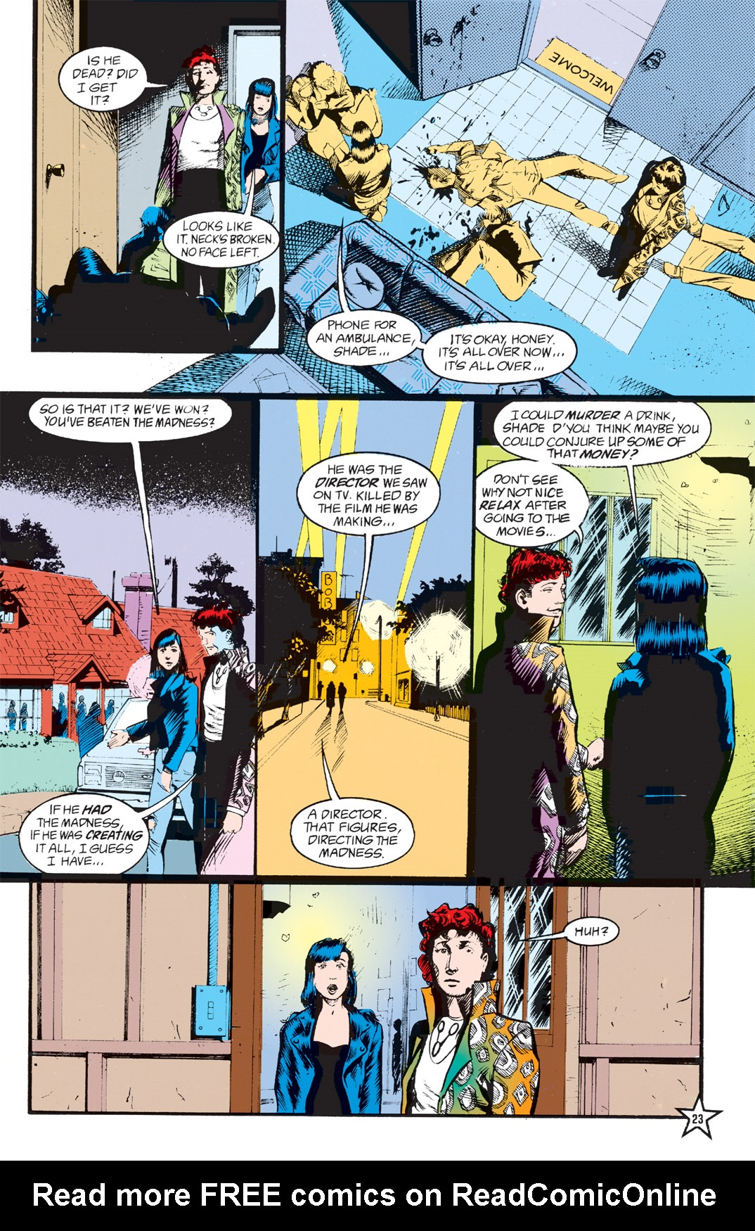 Read online Shade, the Changing Man comic -  Issue #5 - 25