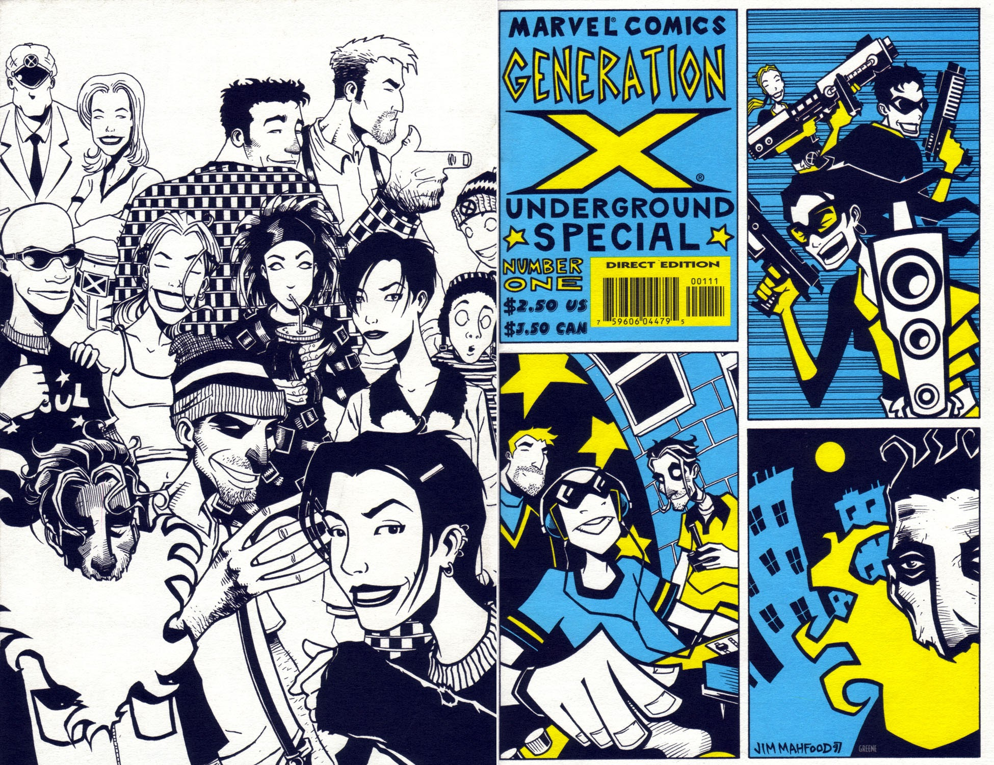 Generation X Underground Special Full Page 1