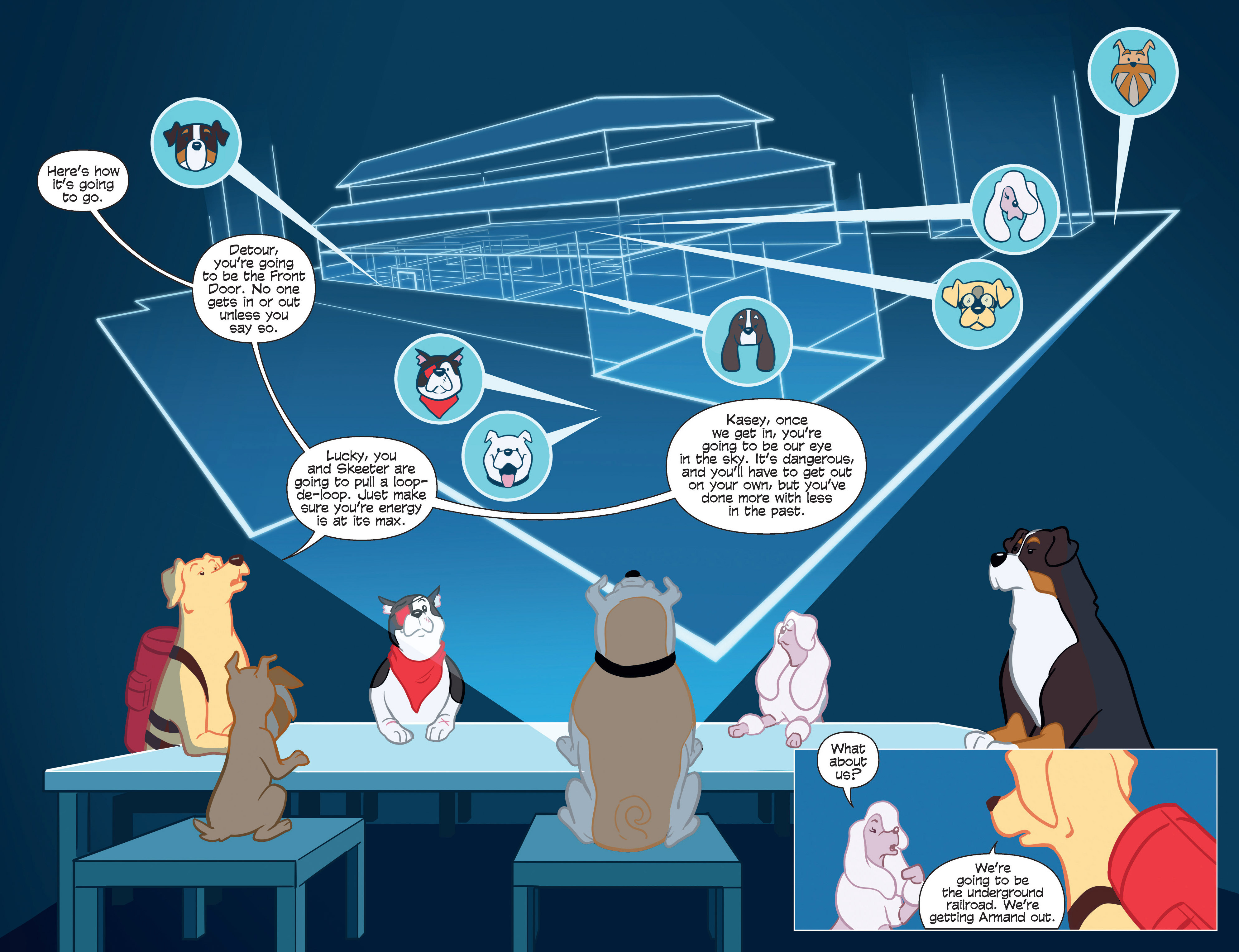 Read online Action Lab, Dog of Wonder comic -  Issue #2 - 15