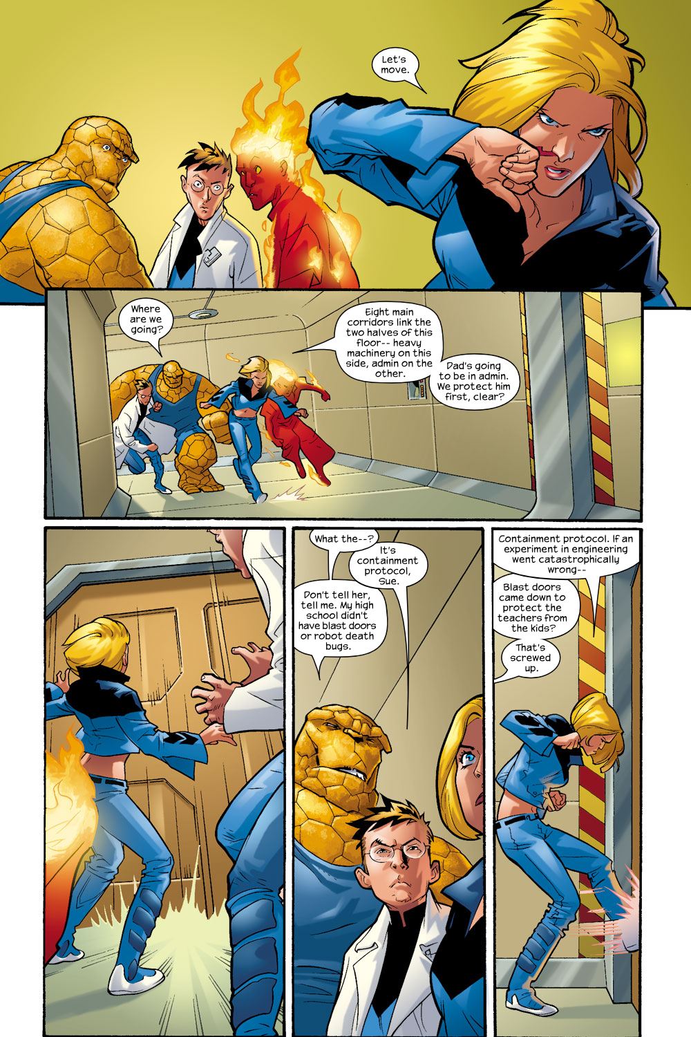 Read online Ultimate Fantastic Four (2004) comic -  Issue #9 - 8