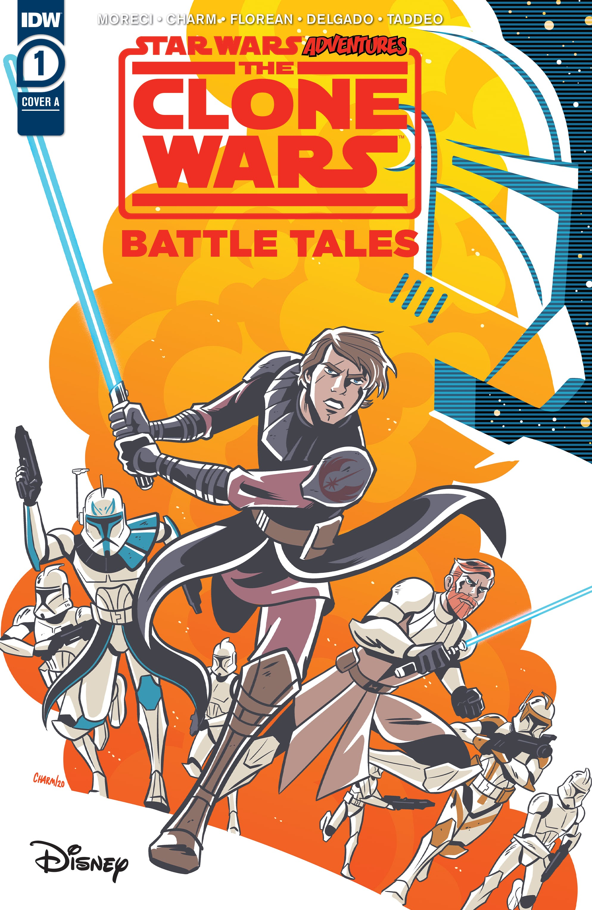 Star Wars Adventures: The Clone Wars-Battle Tales 1 Page 1