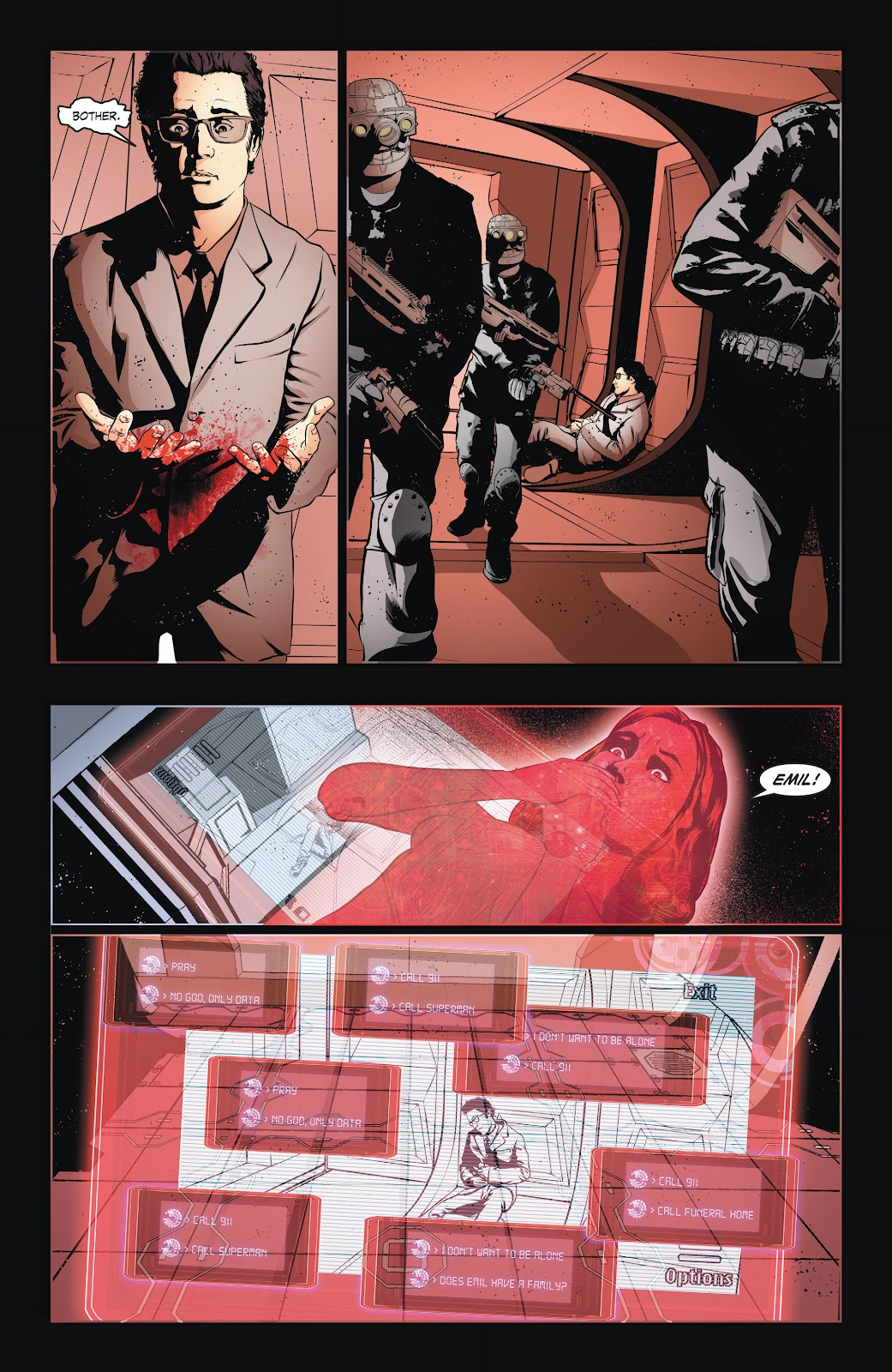 Read online Smallville Season 11 [II] comic -  Issue # TPB 6 - 34