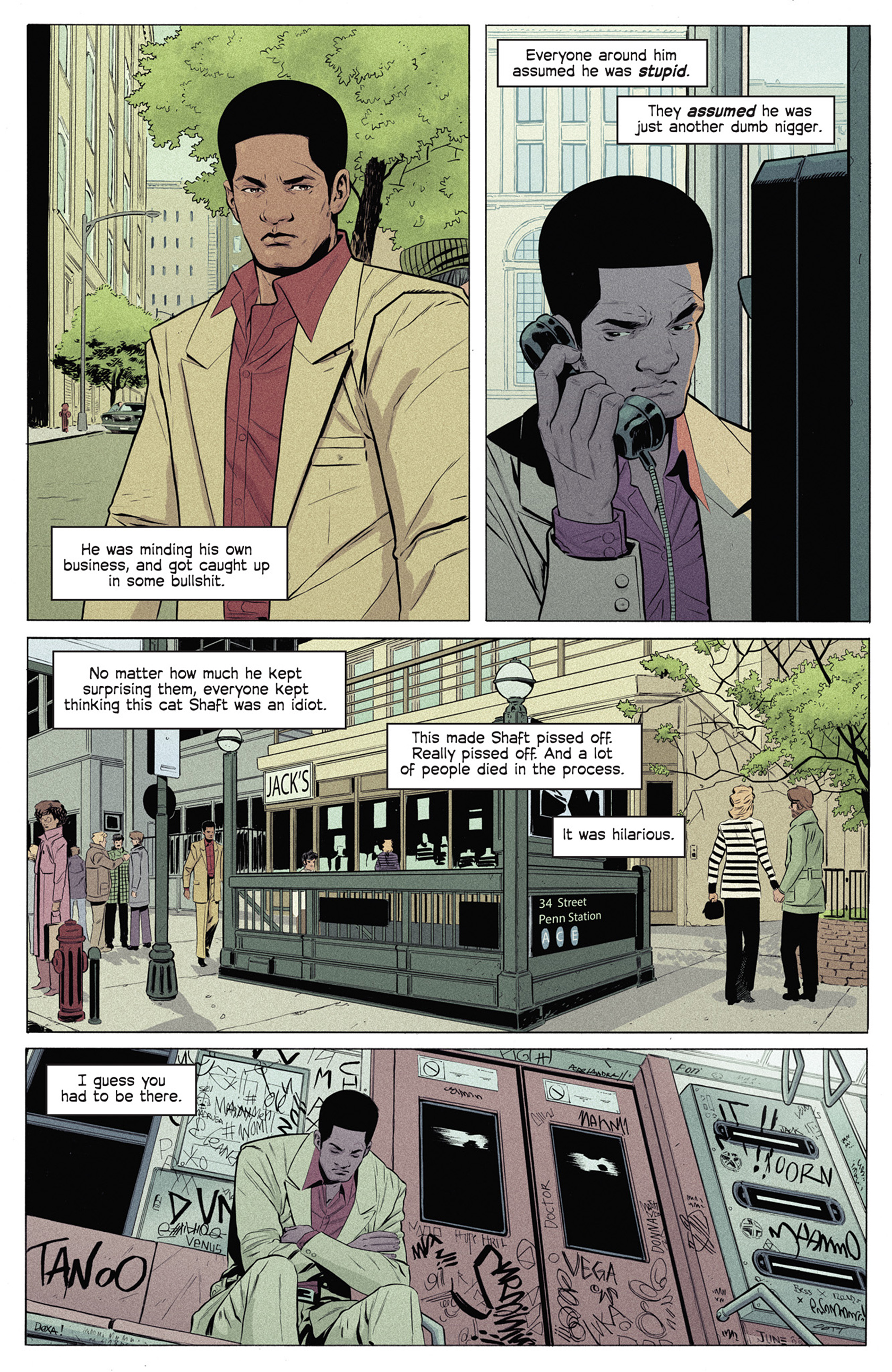Read online Shaft comic -  Issue #5 - 16