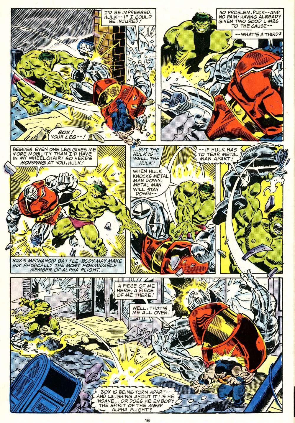 Read online Alpha Flight (1983) comic -  Issue #29 - 16