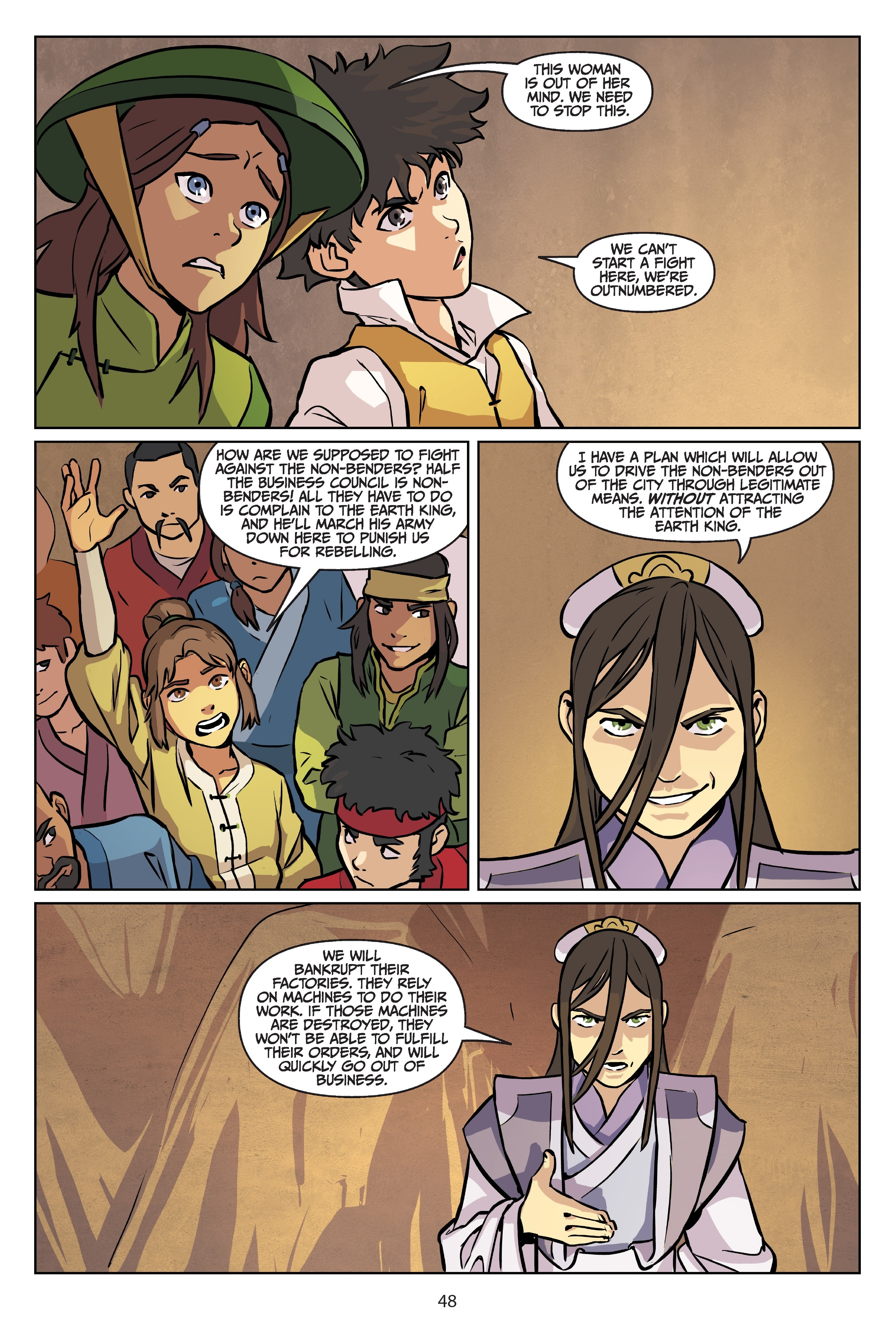 Nickelodeon Avatar: The Last Airbender - Imbalance TPB_2 Page 48