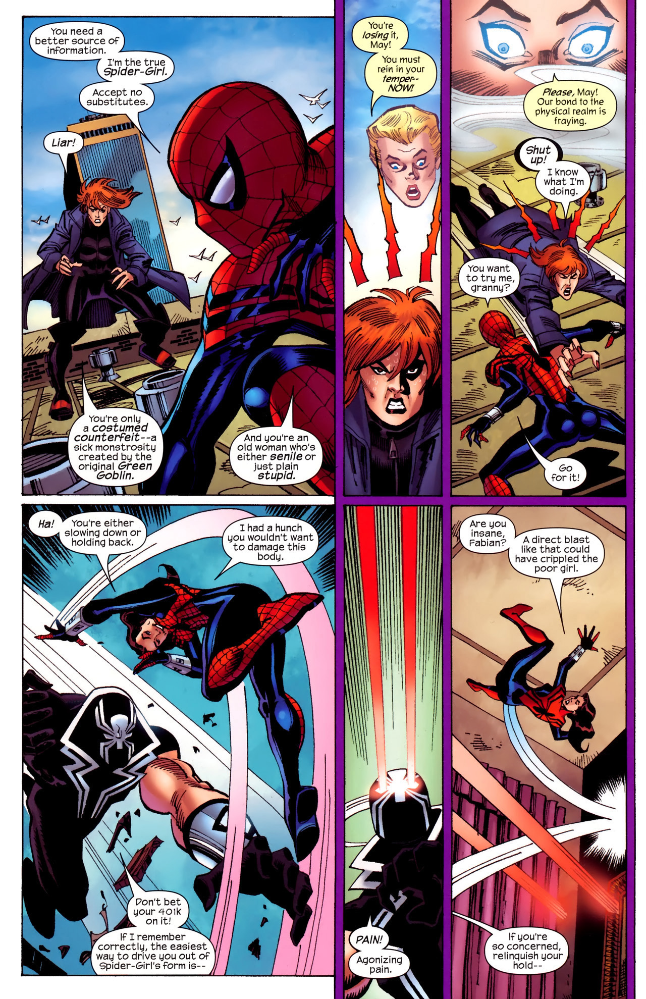 Read online Amazing Spider-Girl comic -  Issue #27 - 22