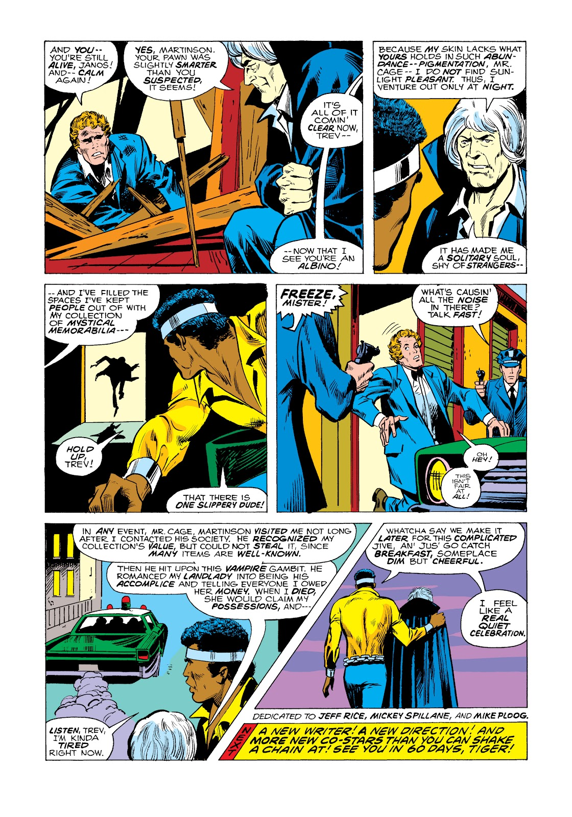 Read online Marvel Masterworks: Luke Cage, Power Man comic -  Issue # TPB 2 (Part 2) - 100
