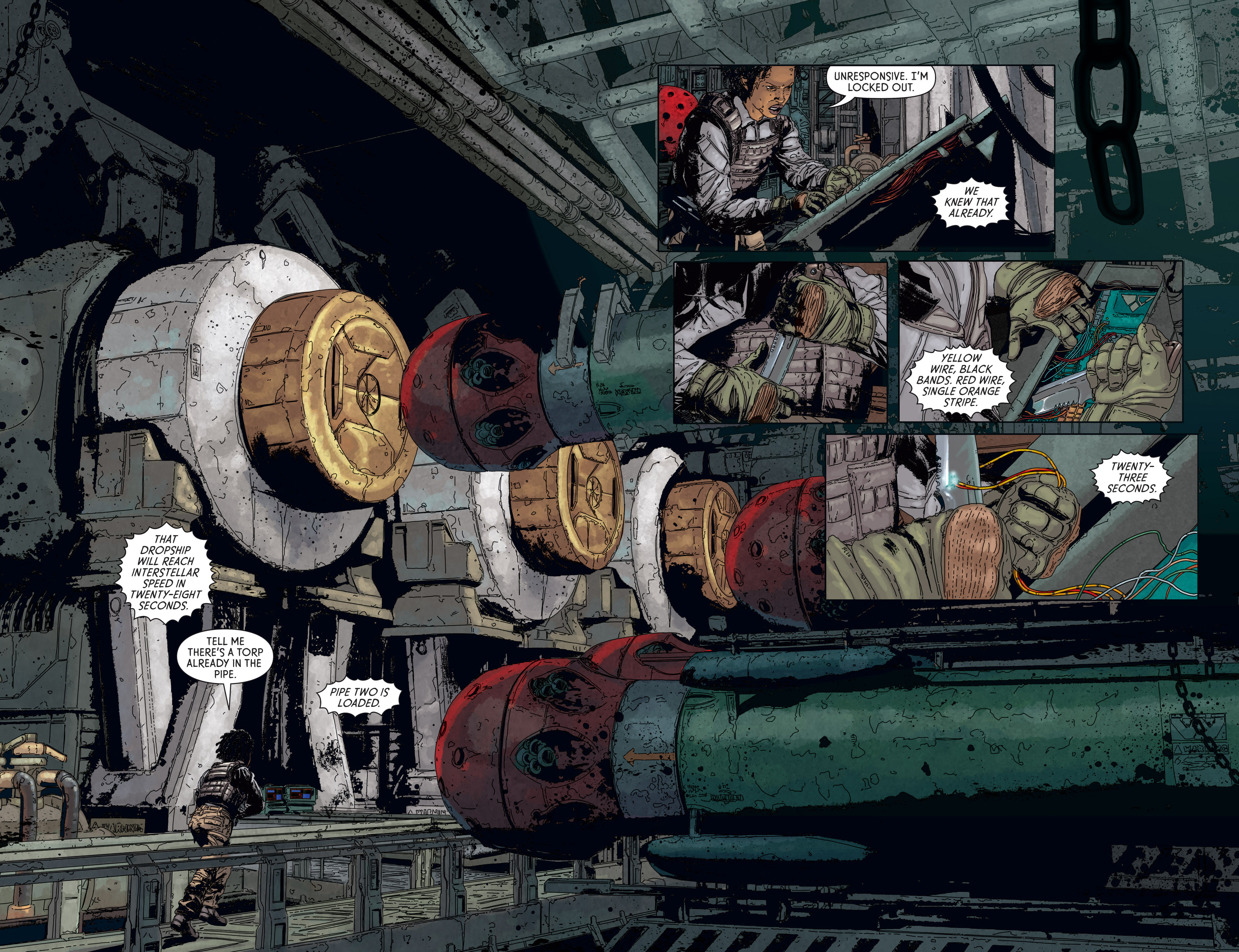 Read online Aliens: Defiance comic -  Issue #5 - 4
