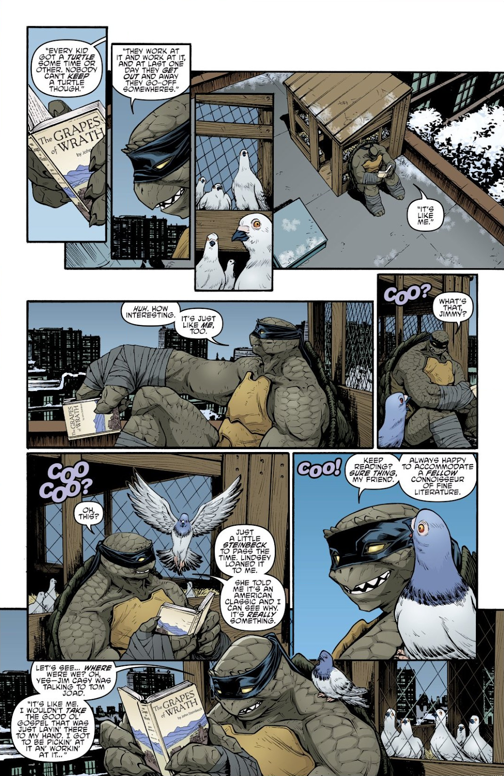 Read online Teenage Mutant Ninja Turtles: The IDW Collection comic -  Issue # TPB 9 (Part 1) - 8