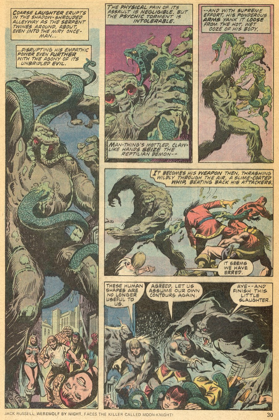 Man-Thing (1974) issue 20 - Page 21