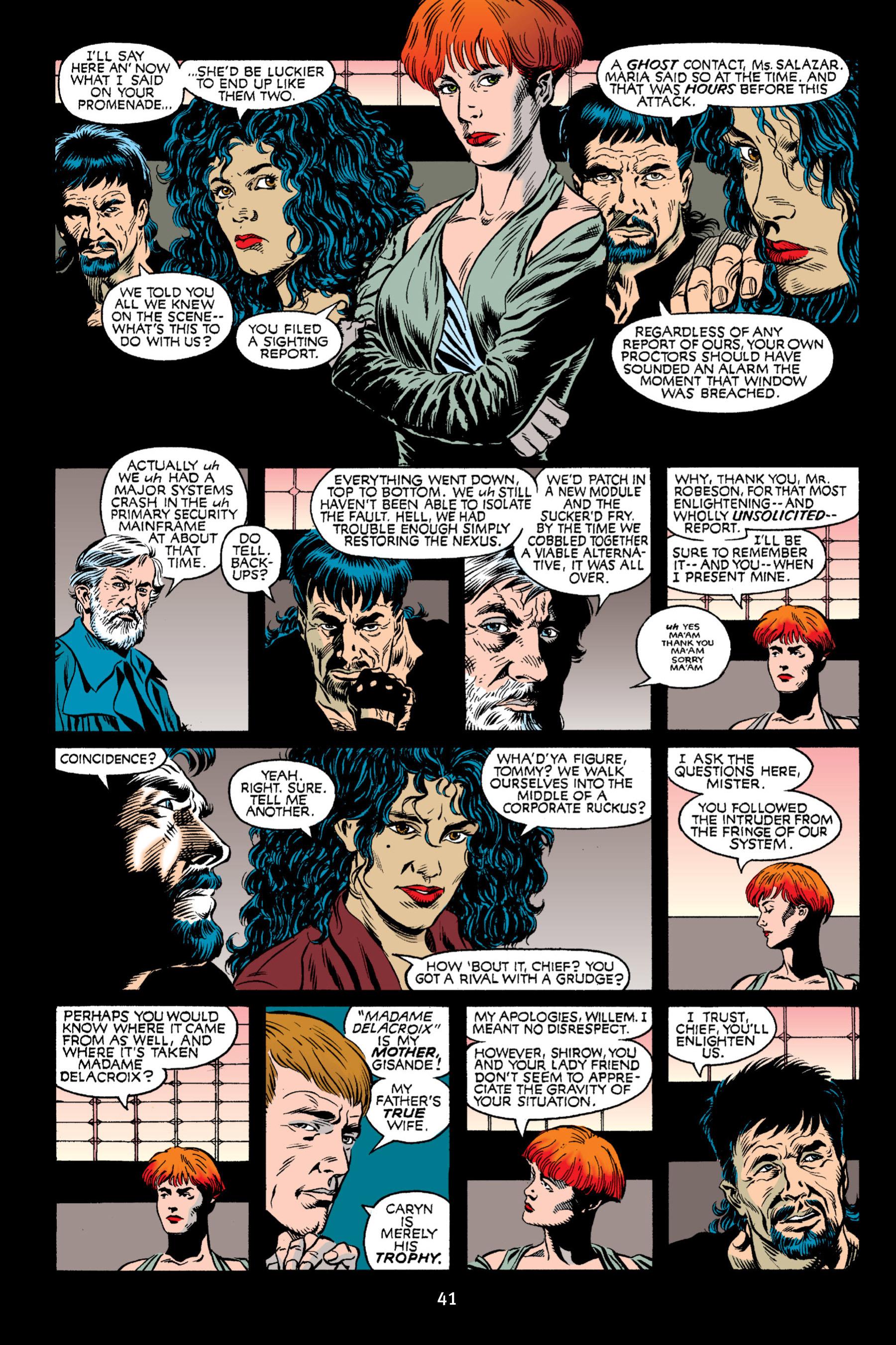 Read online Aliens vs. Predator Omnibus comic -  Issue # _TPB 2 Part 1 - 41
