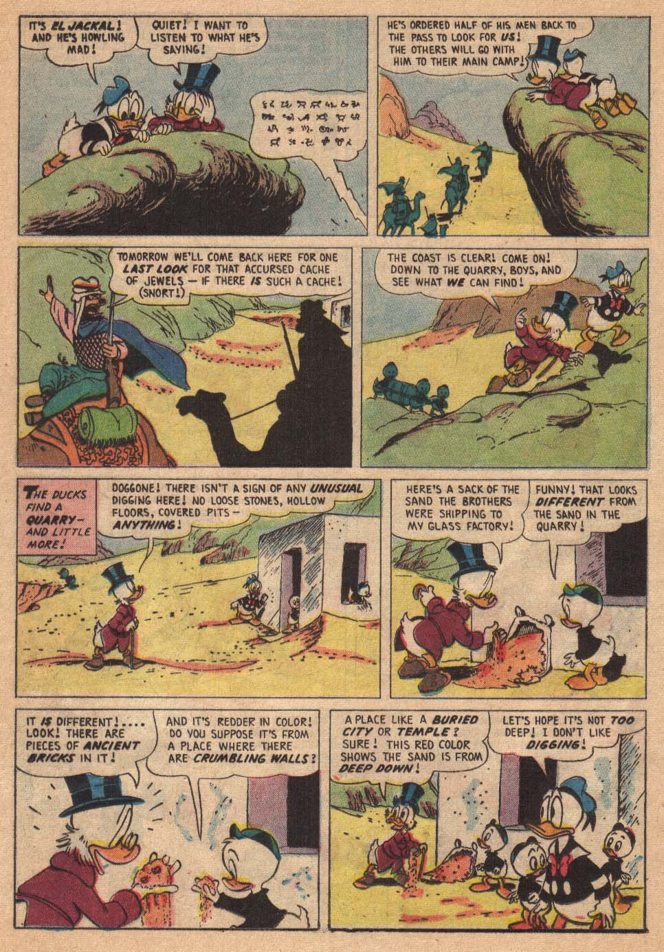 Read online Uncle Scrooge (1953) comic -  Issue #19 - 16