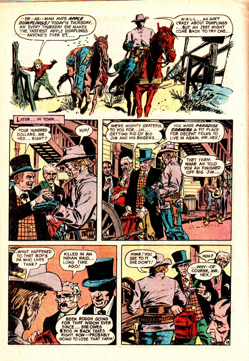 Read online All-Star Western (1970) comic -  Issue #10 - 16