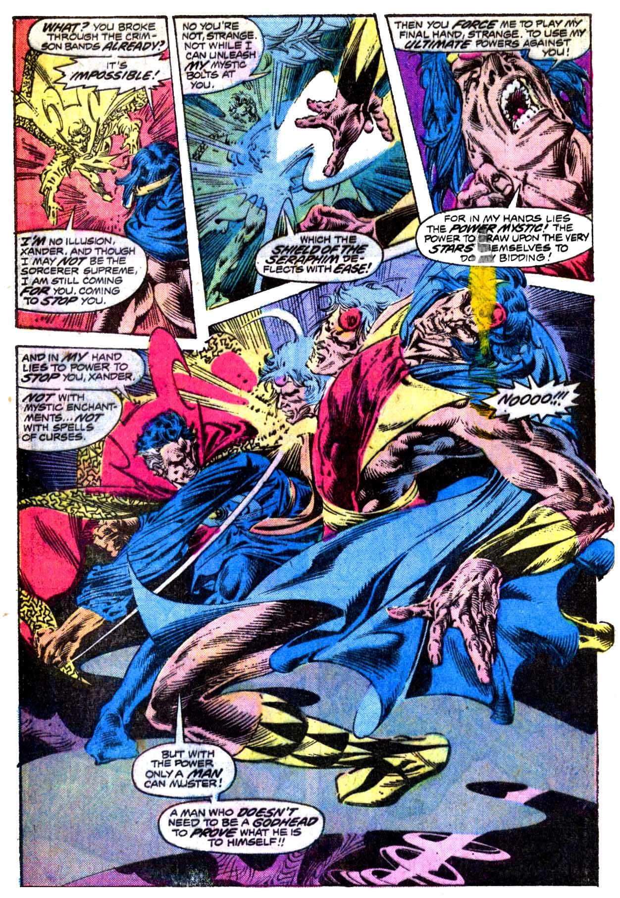 Doctor Strange (1974) 20 Page 17