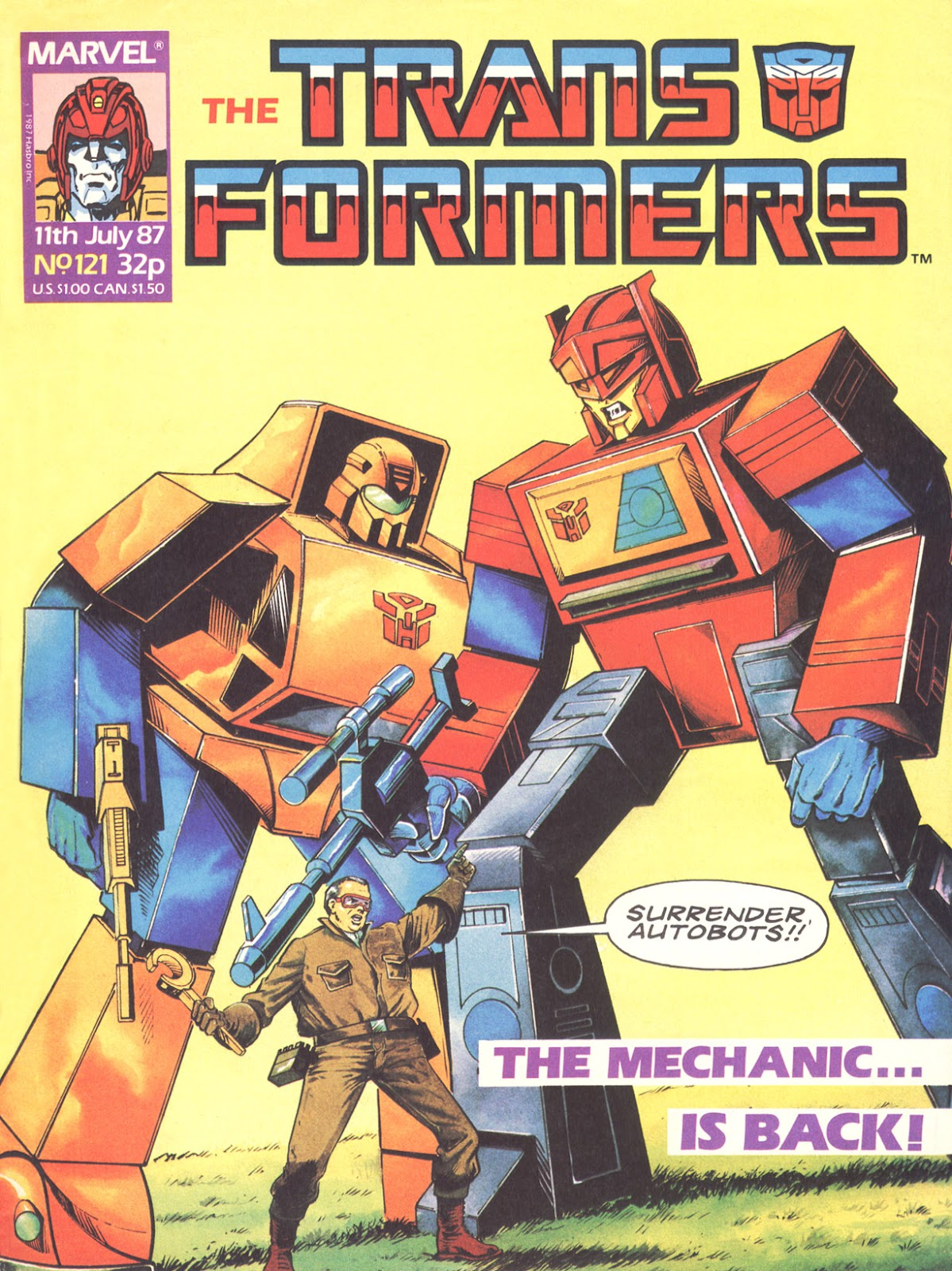 The Transformers (UK) 121 Page 1