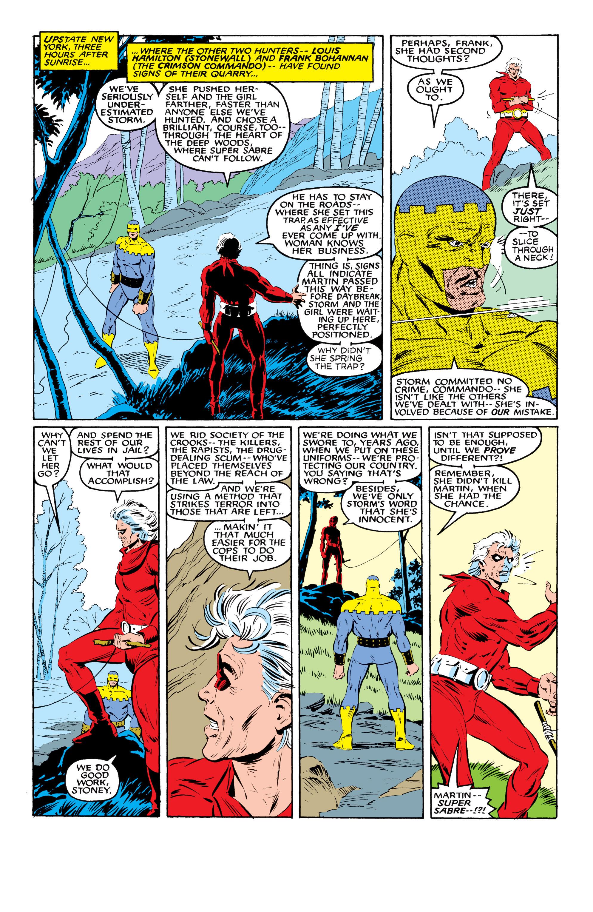 Read online Uncanny X-Men (1963) comic -  Issue #216 - 11