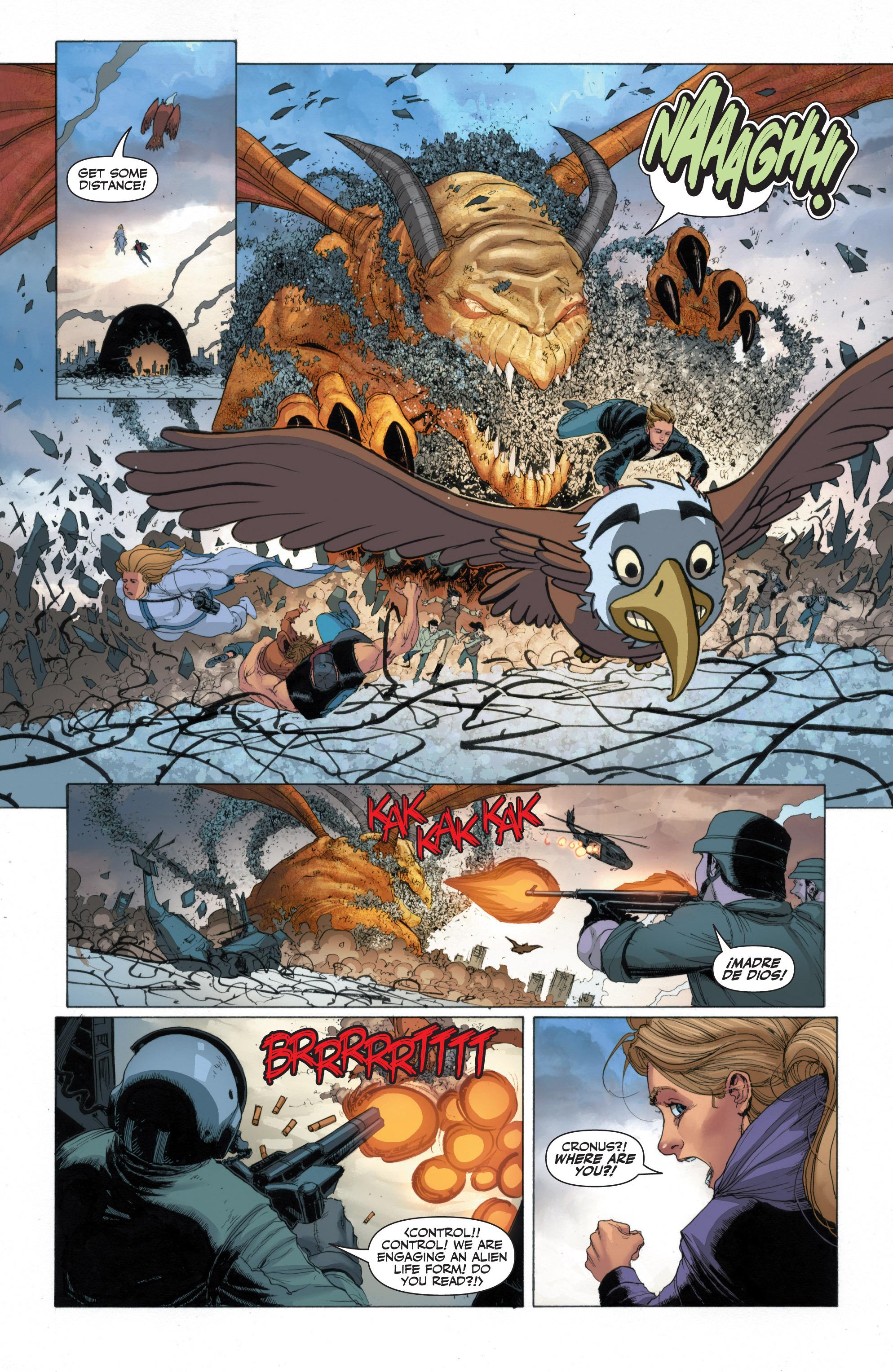 Read online Armor Hunters: Harbinger comic -  Issue # TPB - 51