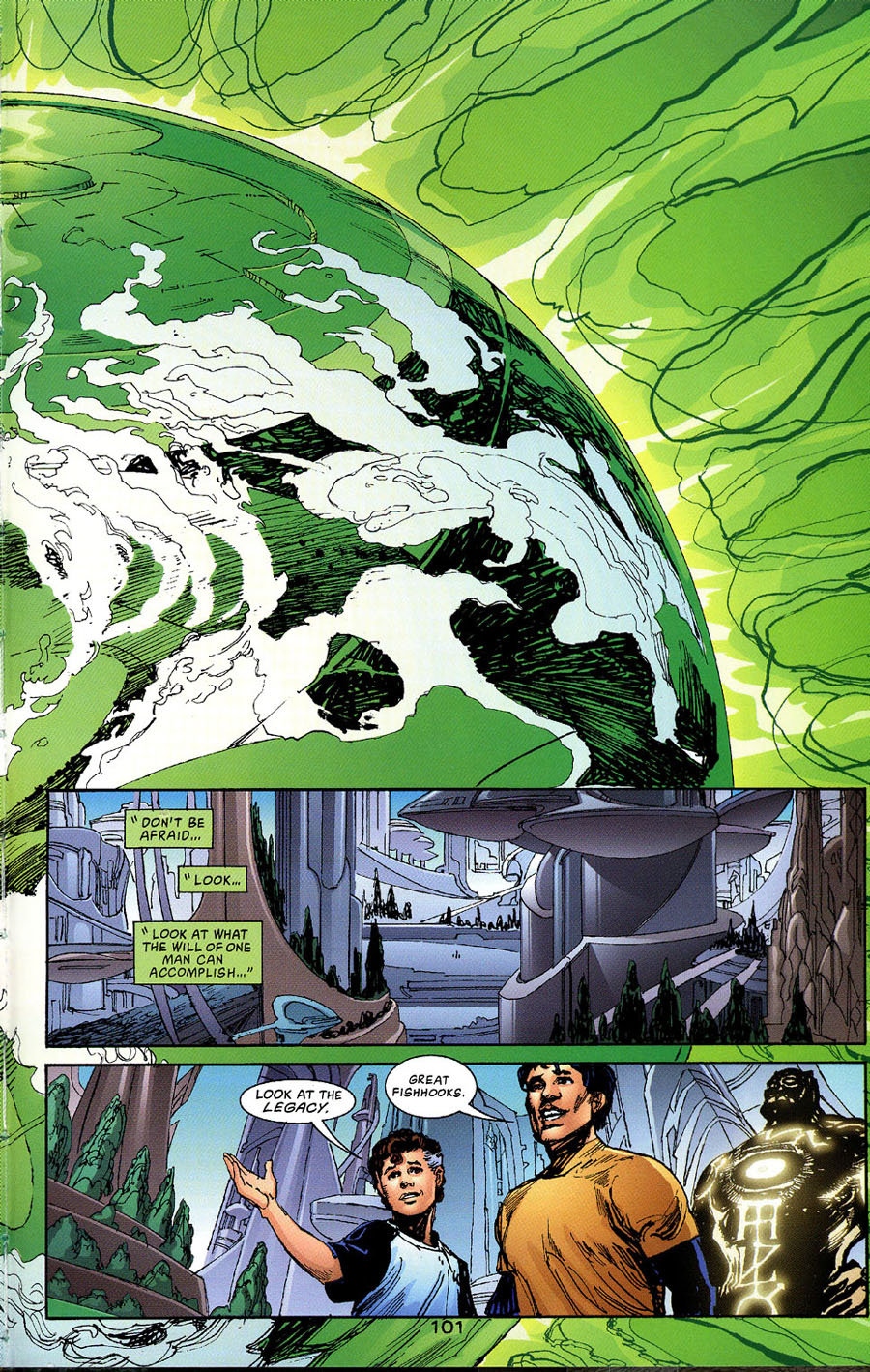 Read online Green Lantern: Legacy: The Last Will and Testament of Hal Jordan comic -  Issue # TPB - 109