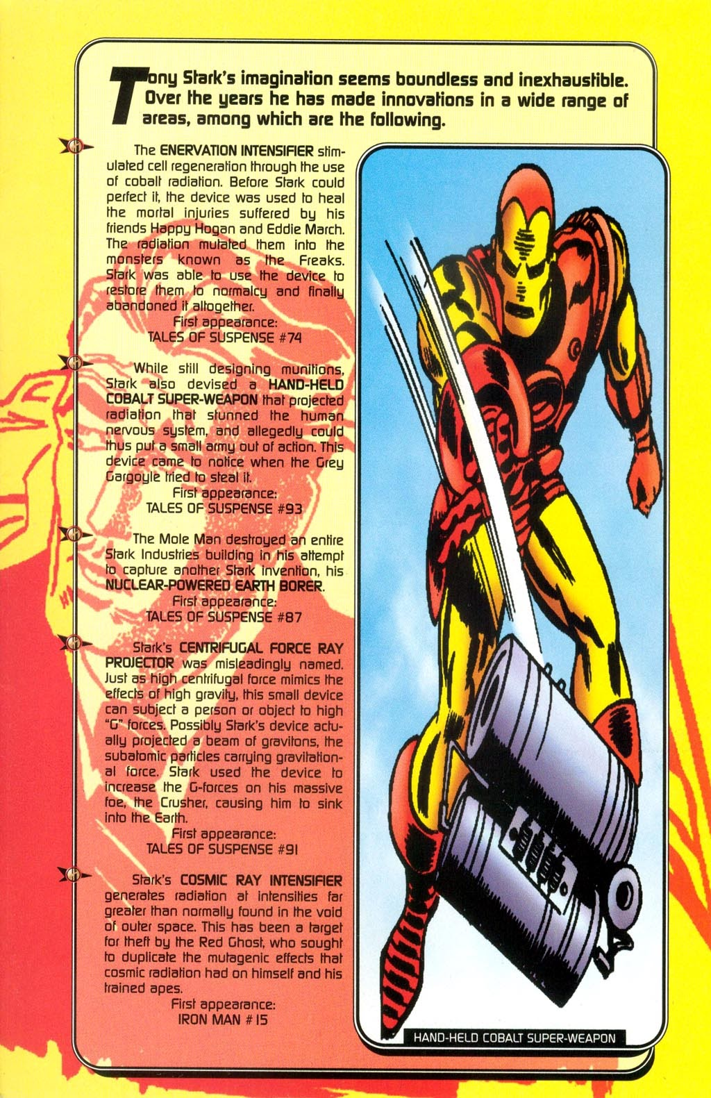 Read online Iron Man: The Legend comic -  Issue # Full - 44