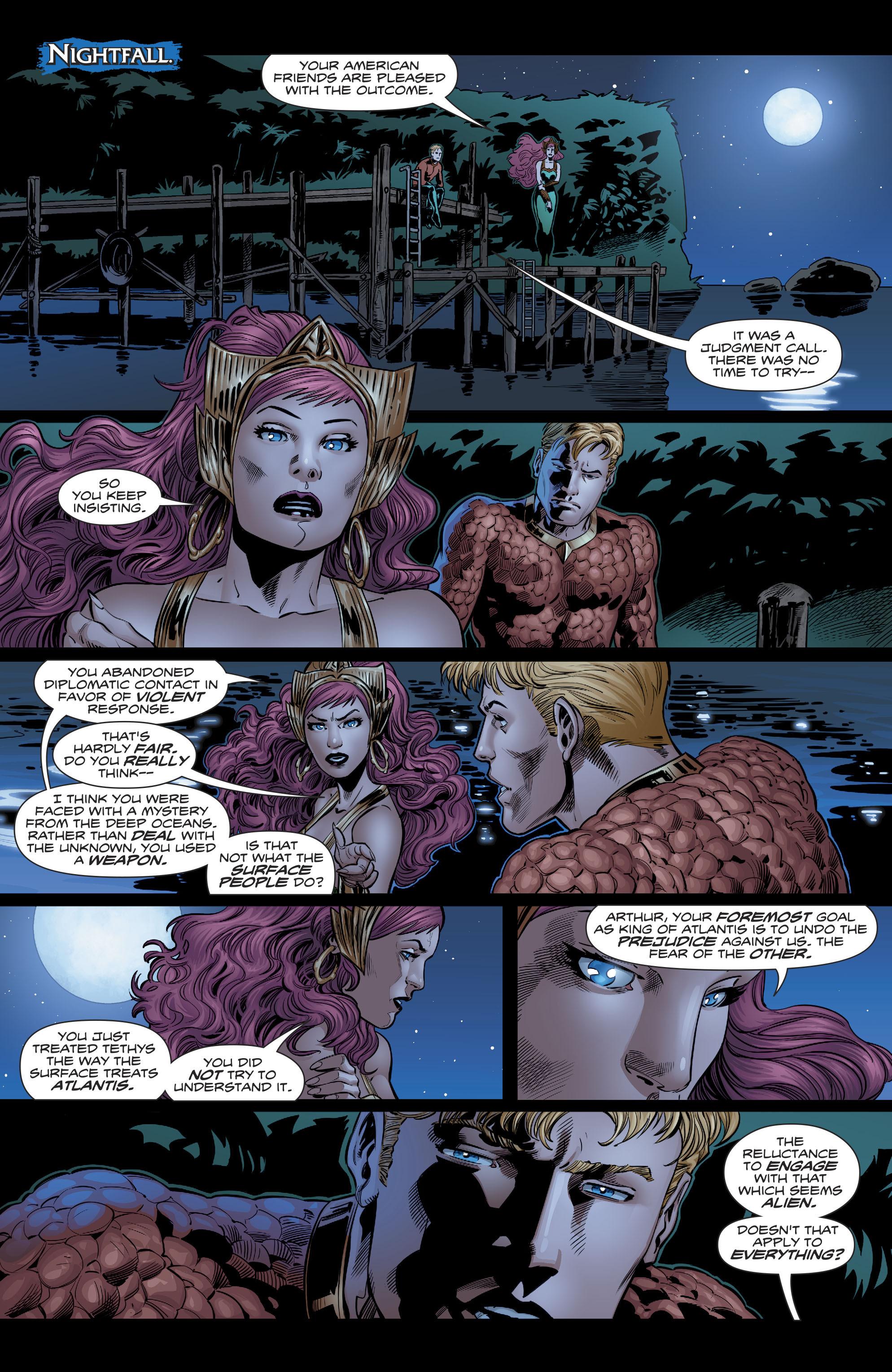 Read online Aquaman (2016) comic -  Issue #22 - 21