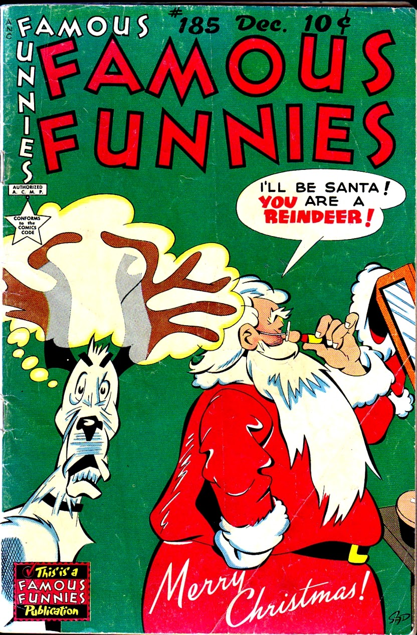 Read online Famous Funnies comic -  Issue #185 - 1
