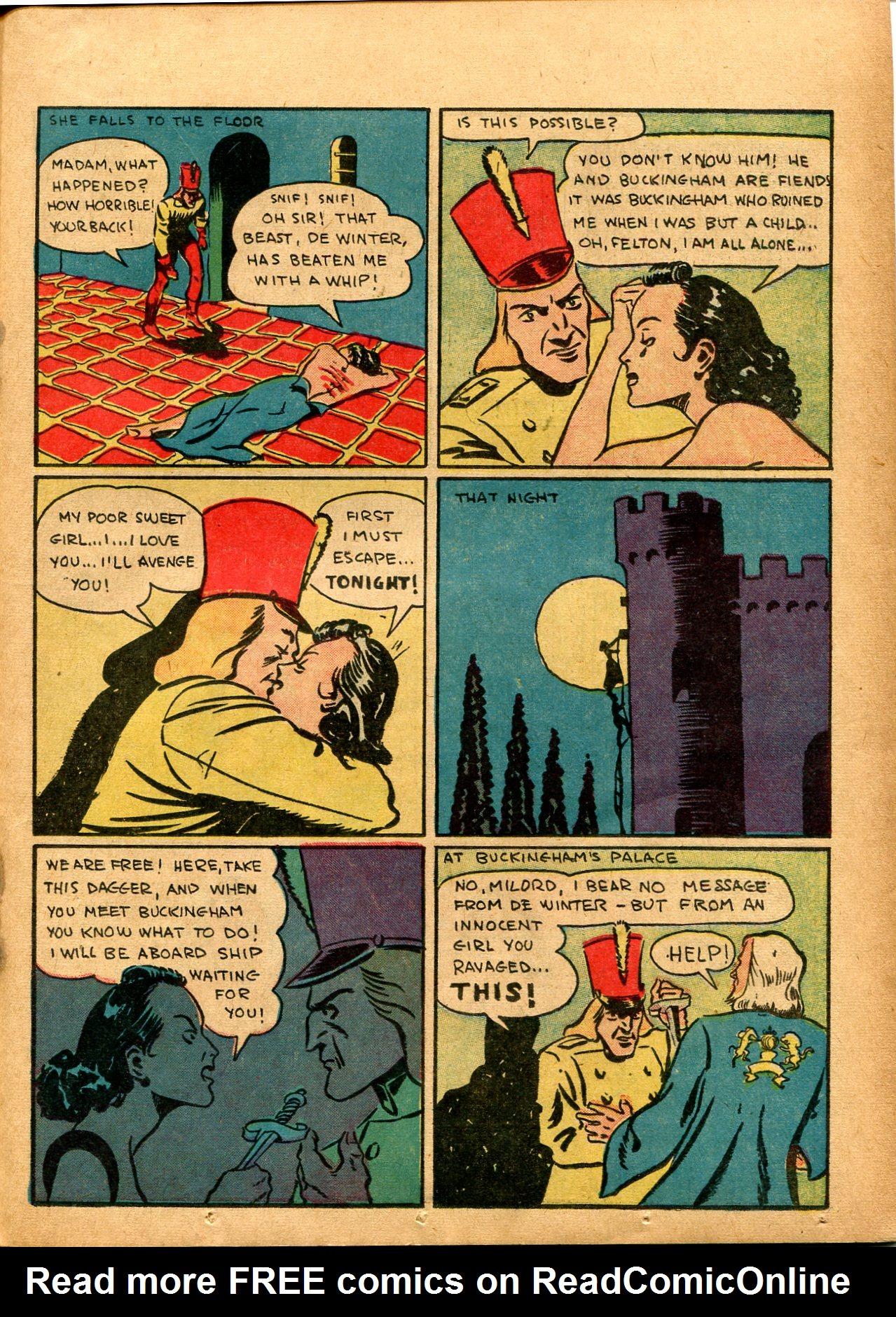 Read online Shadow Comics comic -  Issue #8 - 45