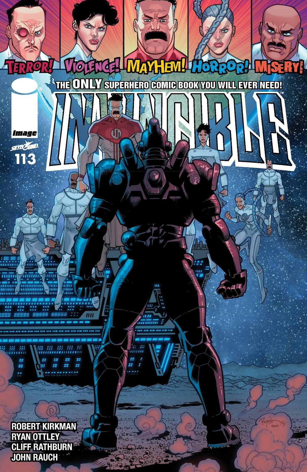 Invincible (2003) 113 Page 1