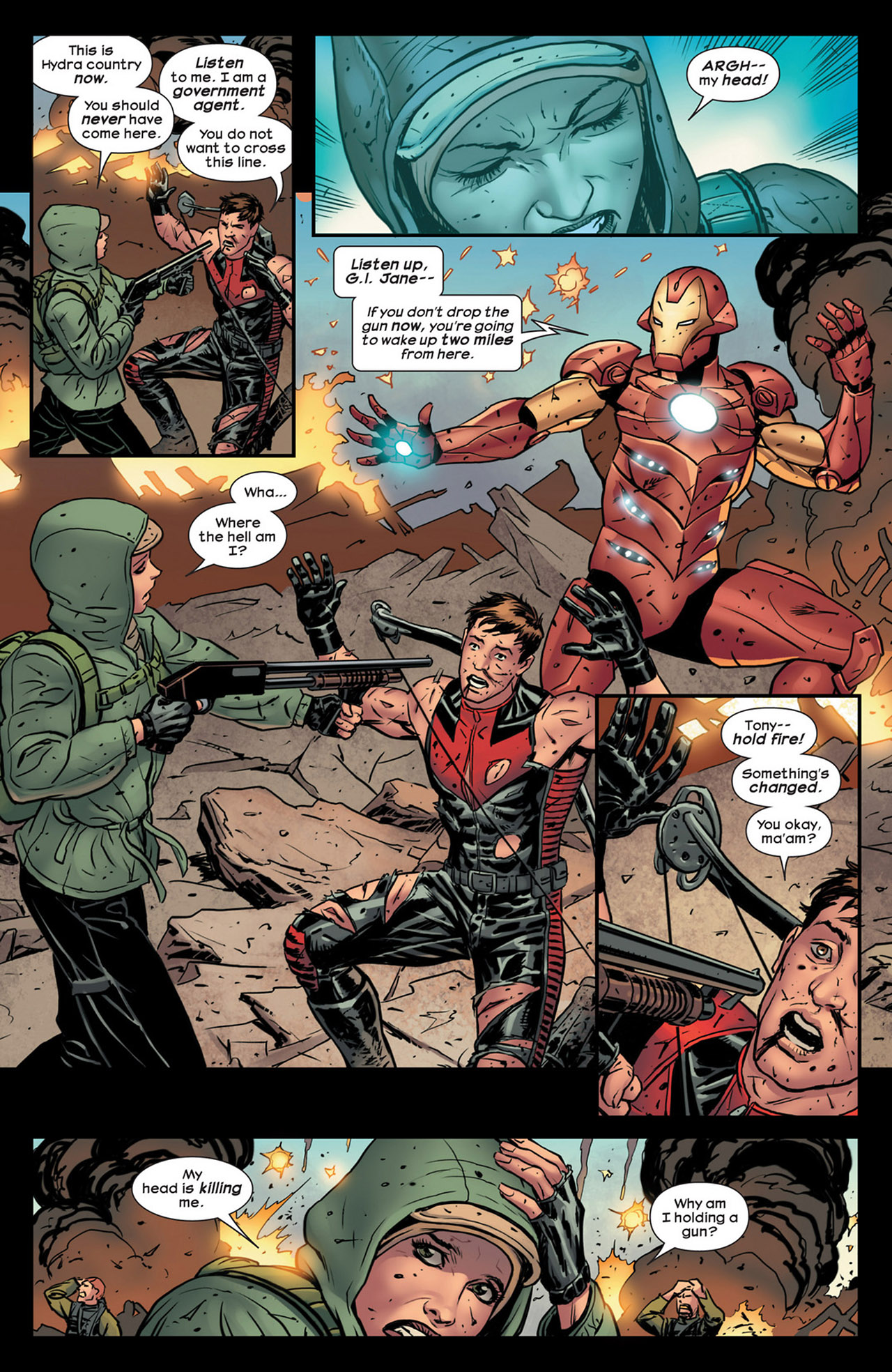 Read online Ultimate Comics Ultimates comic -  Issue #18 - 13