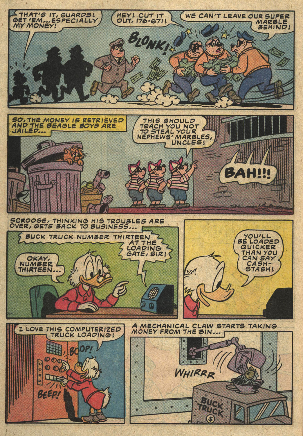 Read online Uncle Scrooge (1953) comic -  Issue #194 - 28