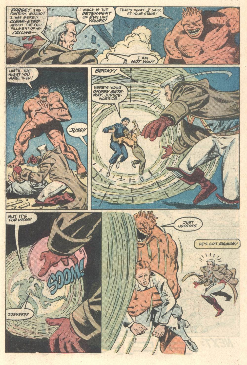 Read online Justice (1986) comic -  Issue #5 - 22