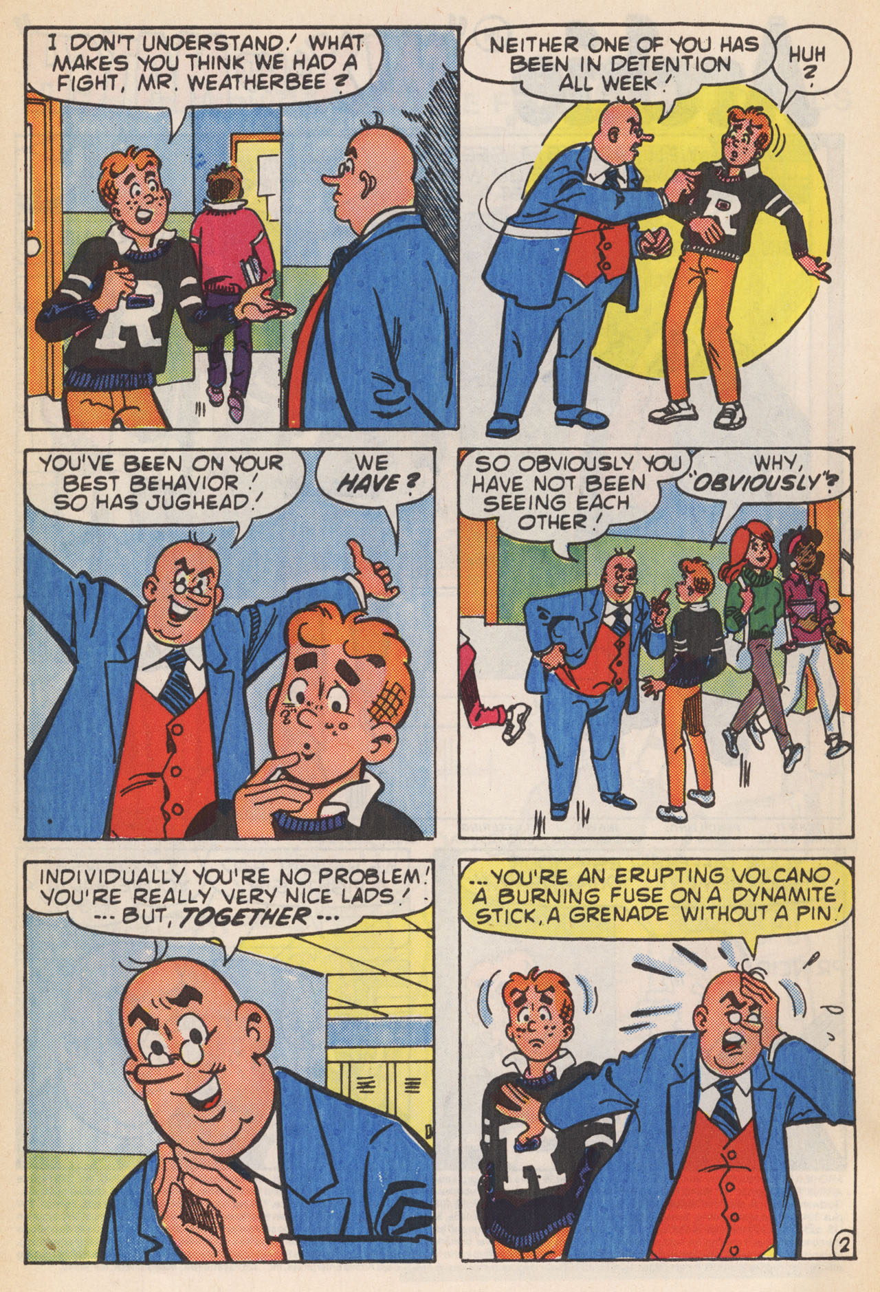 Read online Archie (1960) comic -  Issue #364 - 4