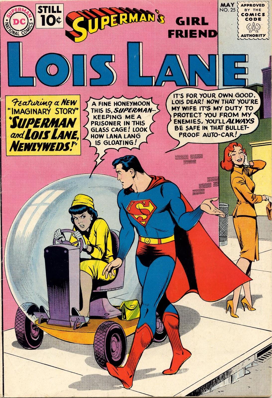 Supermans Girl Friend, Lois Lane 25 Page 1