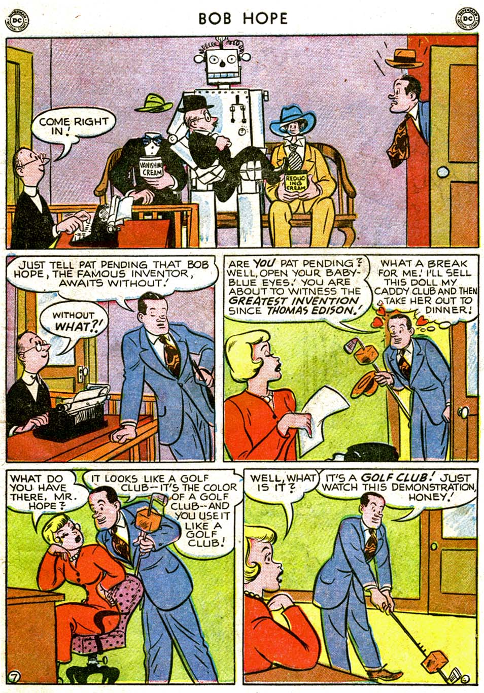 The Adventures of Bob Hope issue 1 - Page 9