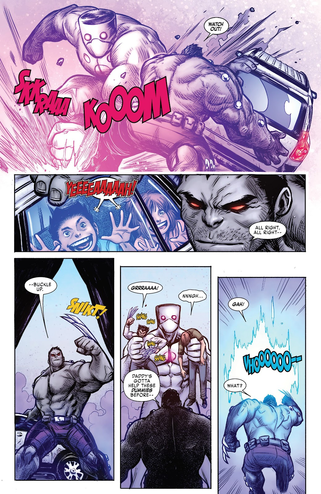 Read online Hulkverines comic -  Issue #3 - 8