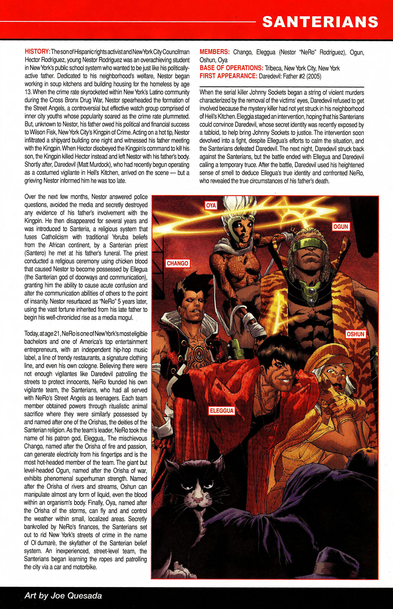 Read online All-New Official Handbook of the Marvel Universe A to Z comic -  Issue #9 - 41