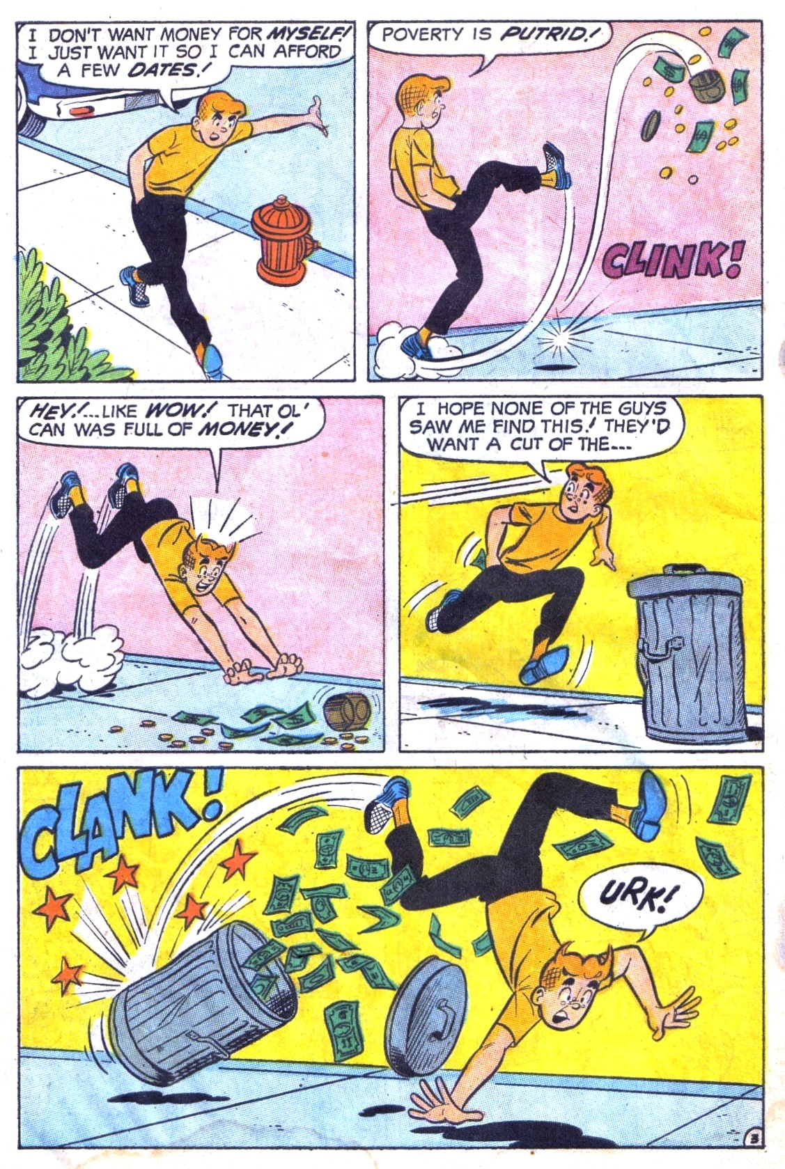 Read online Archie (1960) comic -  Issue #186 - 30