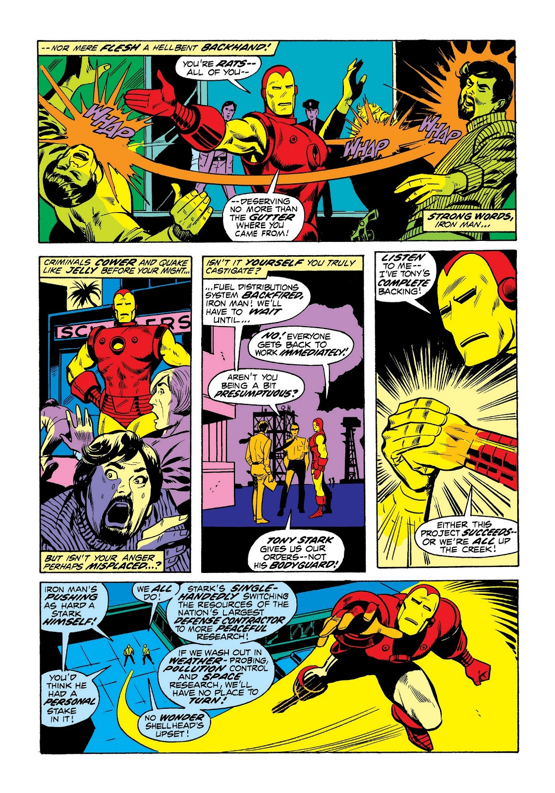 Read online Marvel Masterworks: The Invincible Iron Man comic -  Issue # TPB 8 (Part 3) - 57