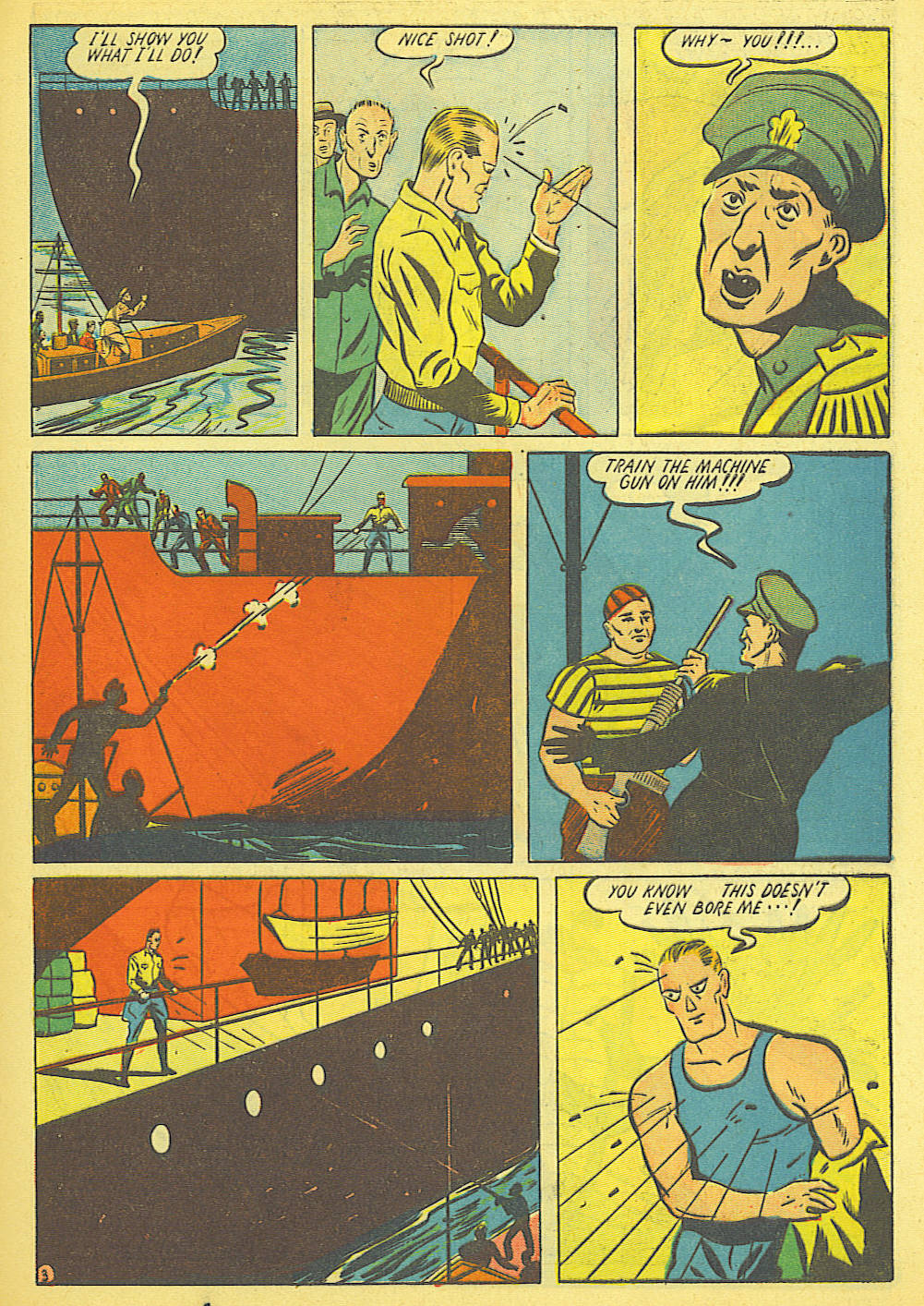 Read online Amazing Man Comics comic -  Issue #19 - 17