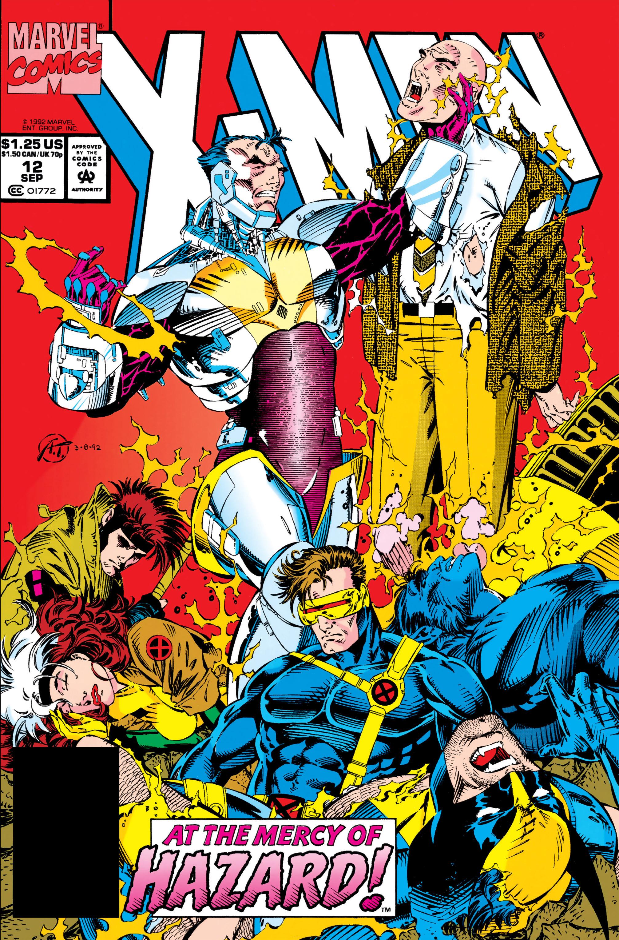 X-Men (1991) 12 Page 0