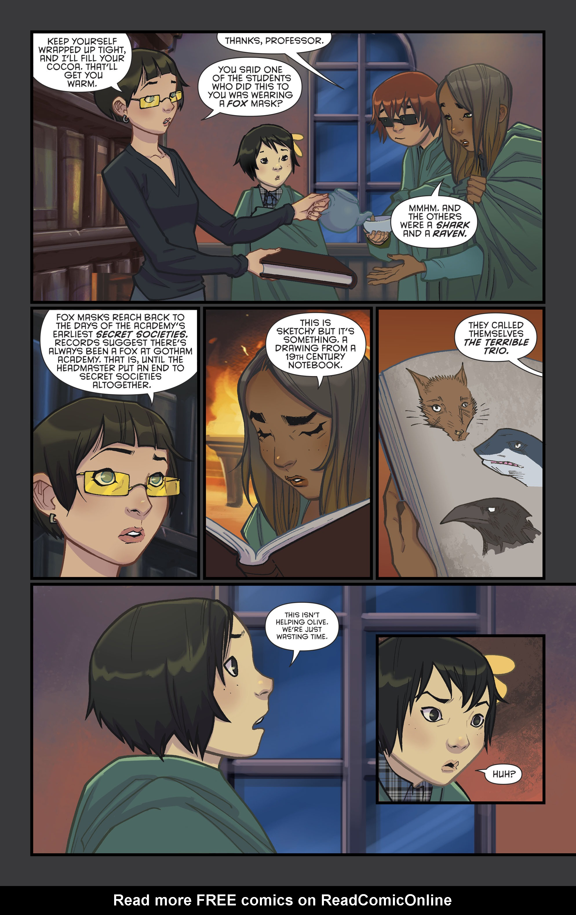 Read online Gotham Academy: Second Semester comic -  Issue #9 - 19