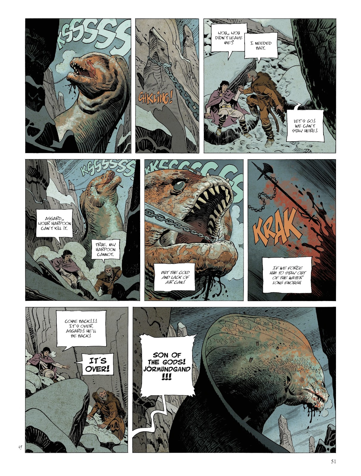 Read online Asgard comic -  Issue #2 - 53