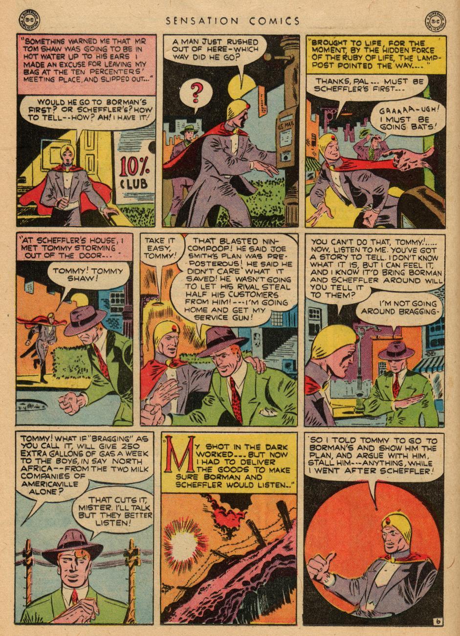 Read online Sensation (Mystery) Comics comic -  Issue #36 - 22