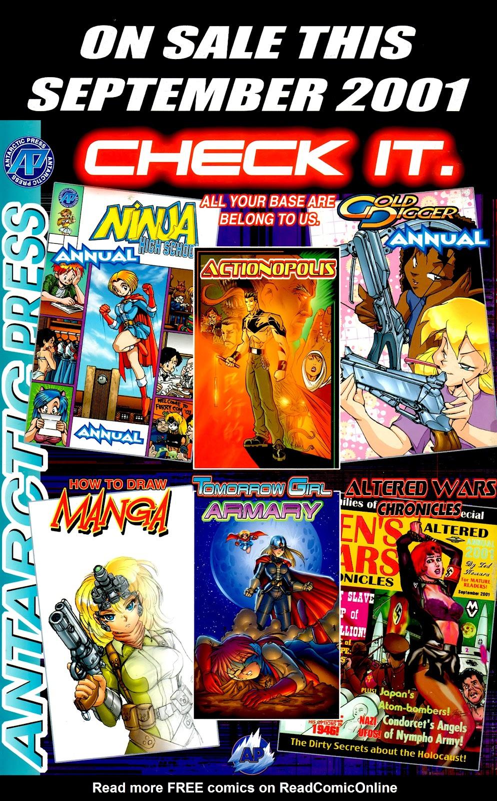 Warrior Nun Areala:  Dangerous Game Issue #2 #2 - English 31
