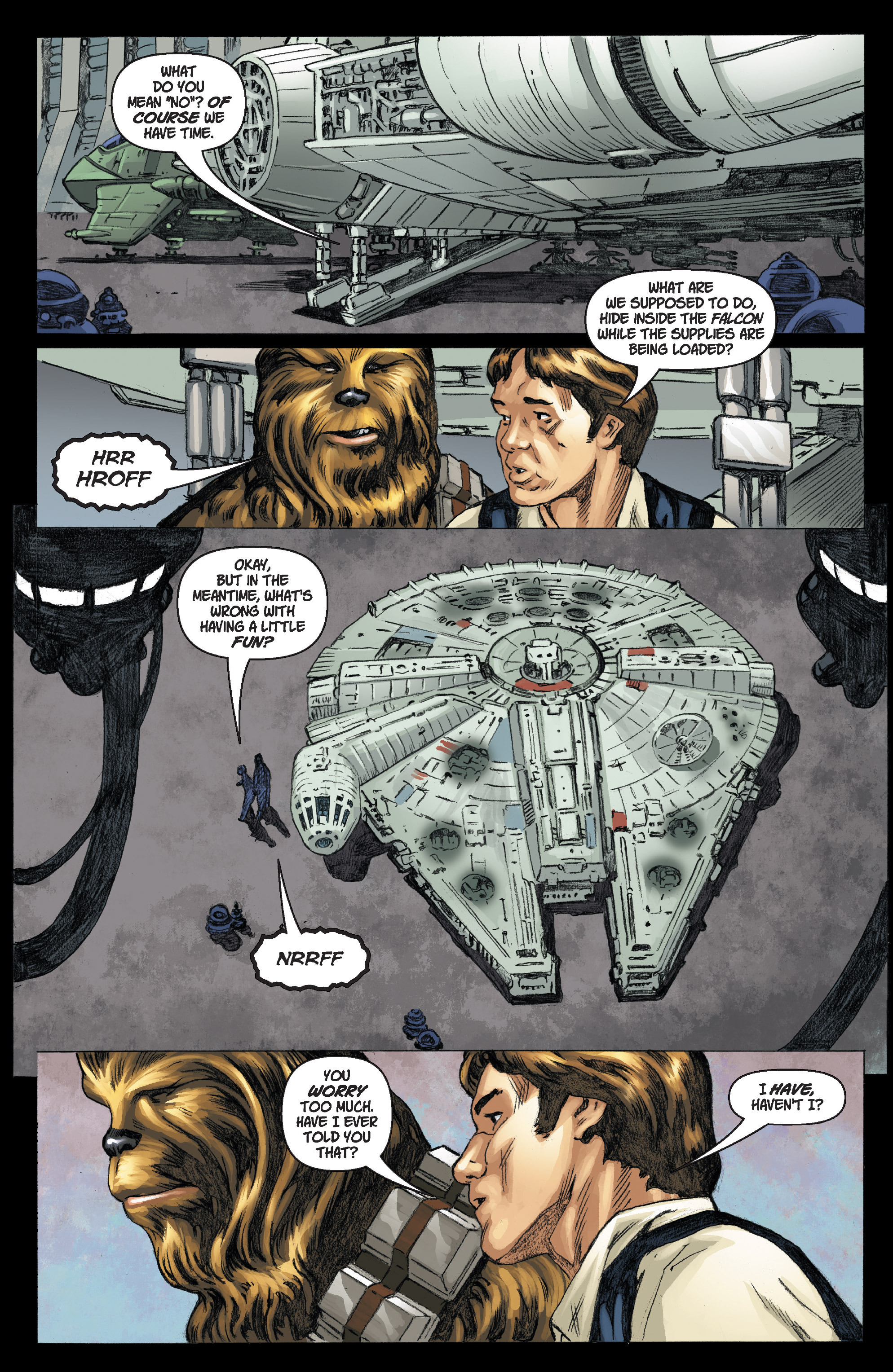 Read online Star Wars Omnibus comic -  Issue # Vol. 17 - 336