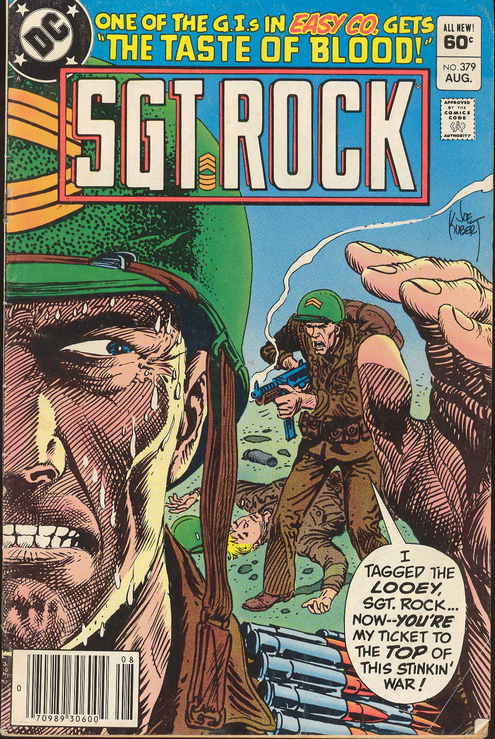 Sgt. Rock issue 379 - Page 1