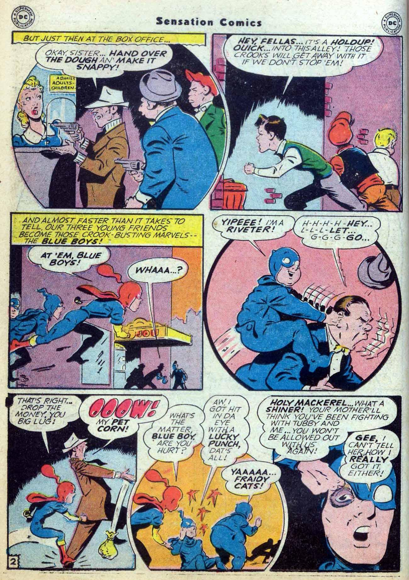 Read online Sensation (Mystery) Comics comic -  Issue #59 - 18