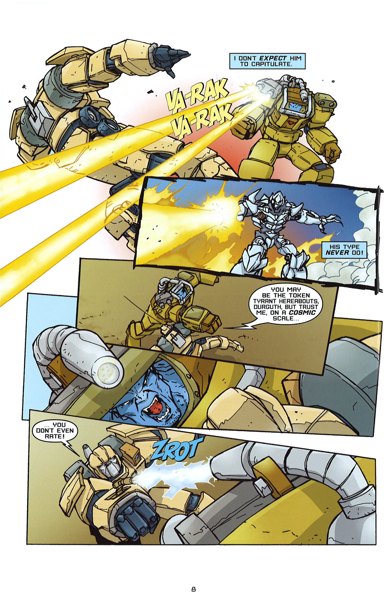Read online Transformers: Saga of the Allspark comic -  Issue #2 - 11