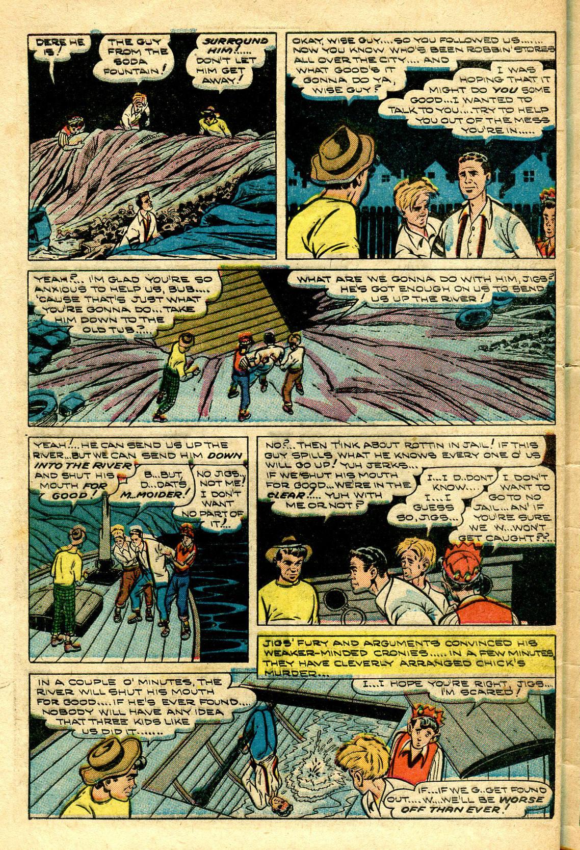 Read online Shadow Comics comic -  Issue #96 - 44