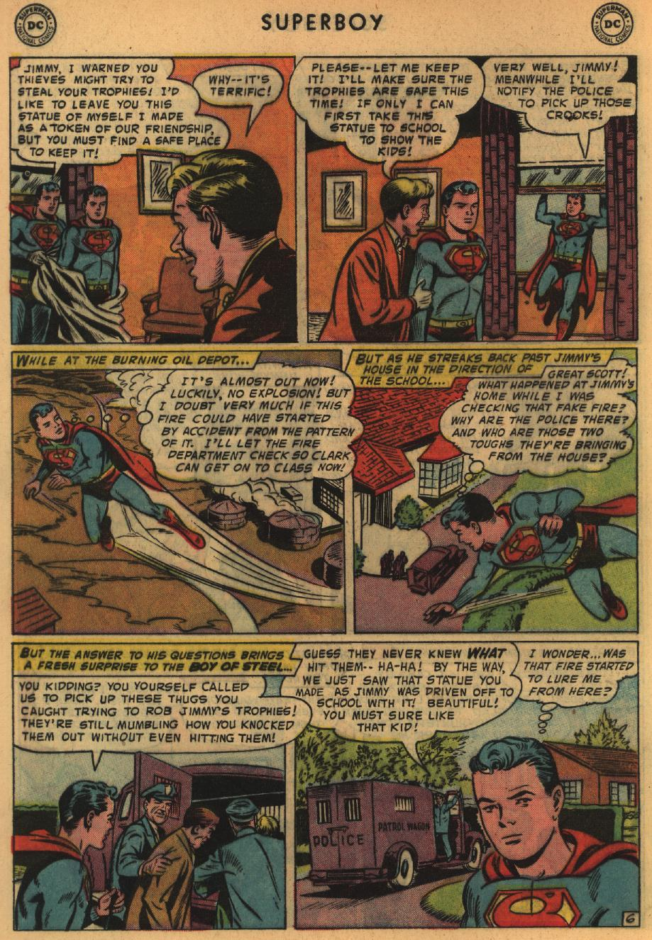 Superboy (1949) issue 64 - Page 7